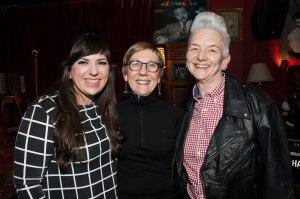 Louise, Teresa and I at Teresa's 60th birthday party